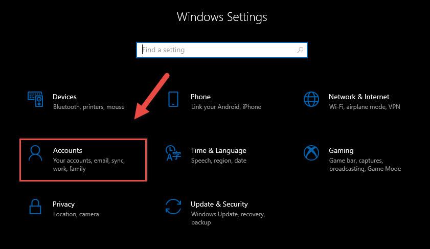 Đổi mật khẩu máy tính trên Windows 10 - Ảnh 2