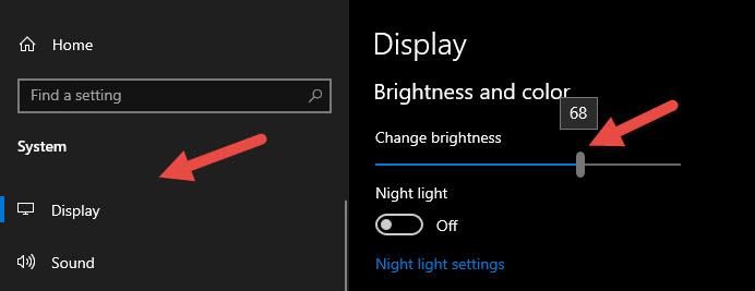Điều chỉnh độ sáng màn hình trong phần Settings của Windows - Ảnh 2