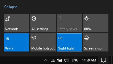 Bật chế độ Night Light trên Laptop để bảo vệ mắt