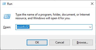 Kiểm tra thông tin máy tính sử dụng câu lệnh msinfo32 - Ảnh 1