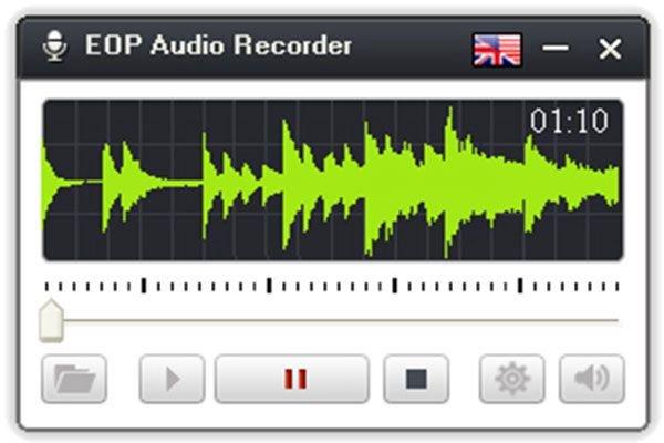 EOP Audio Recorder - Phần mềm thu âm trên máy tính miễn phí