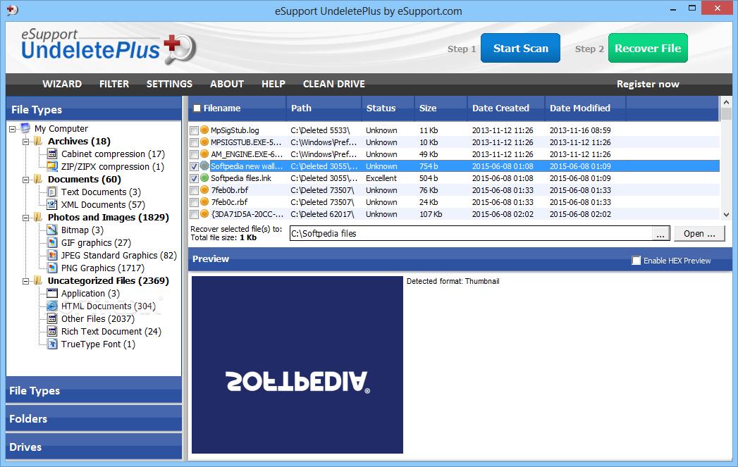 Phần mềm khôi phục dữ liệu Undelete Plus ( Dùng thử )