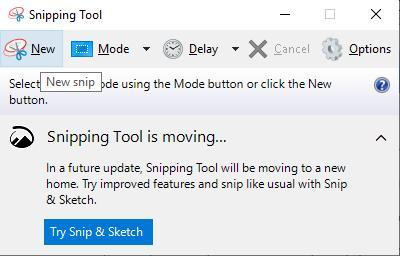 Chụp ảnh màn hình với Snipping Tools - Ảnh 2
