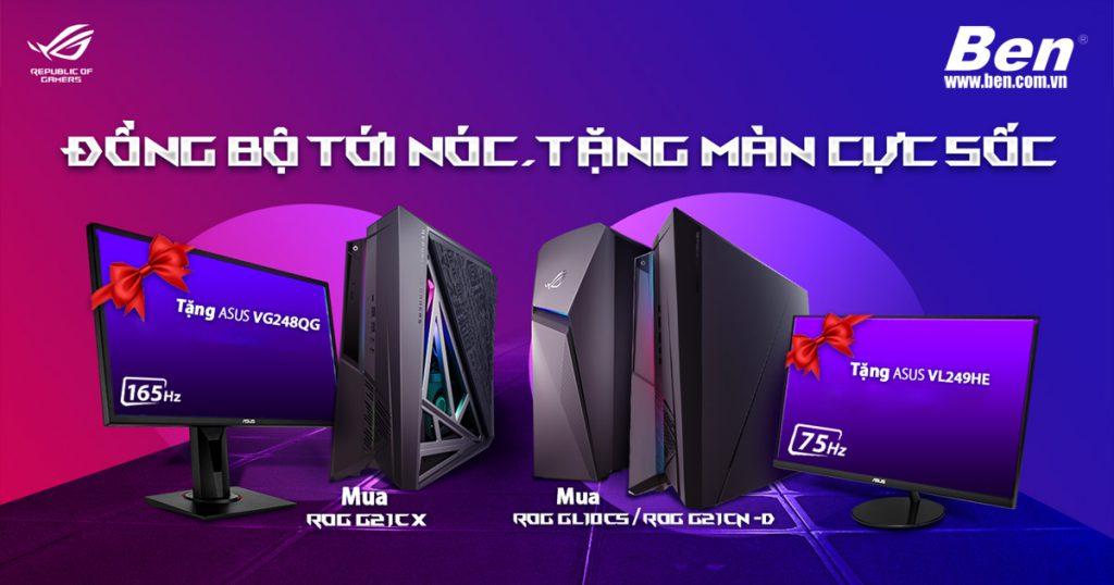 Gaming DT bundle program1450x827 - Khuyến mãi Asus: Mua PC tặng ngay màn hình LCD - Ben Computer