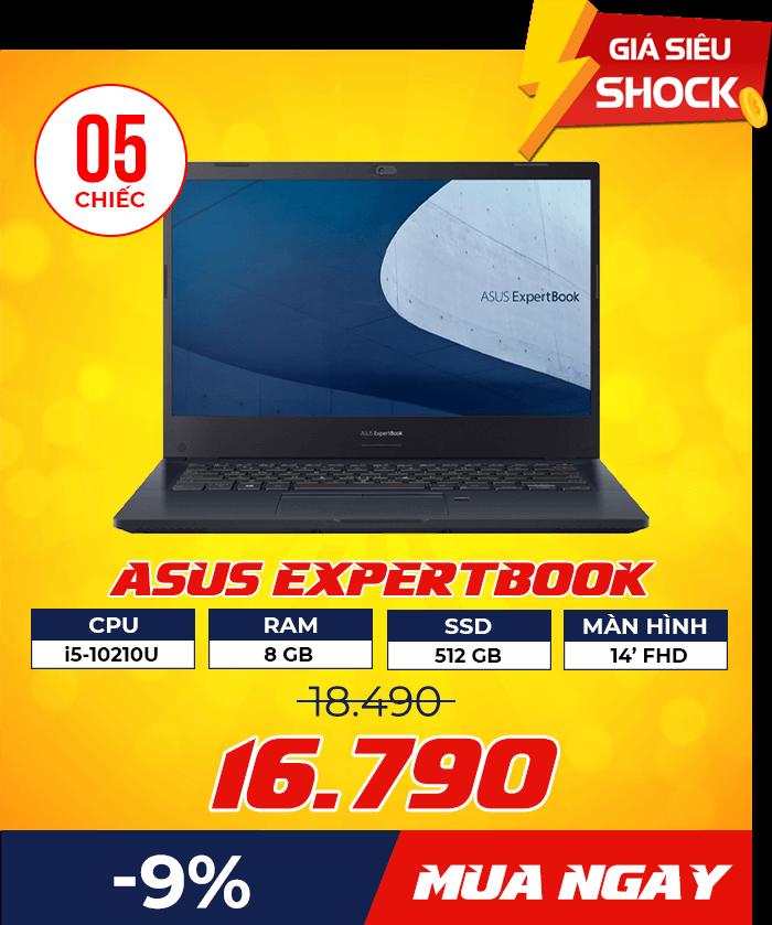 dn Asus ExpertBook P2451FA 2 - Flash Sale mỗi ngày: Xả hàng & Giảm giá cực sốc - Ben Computer