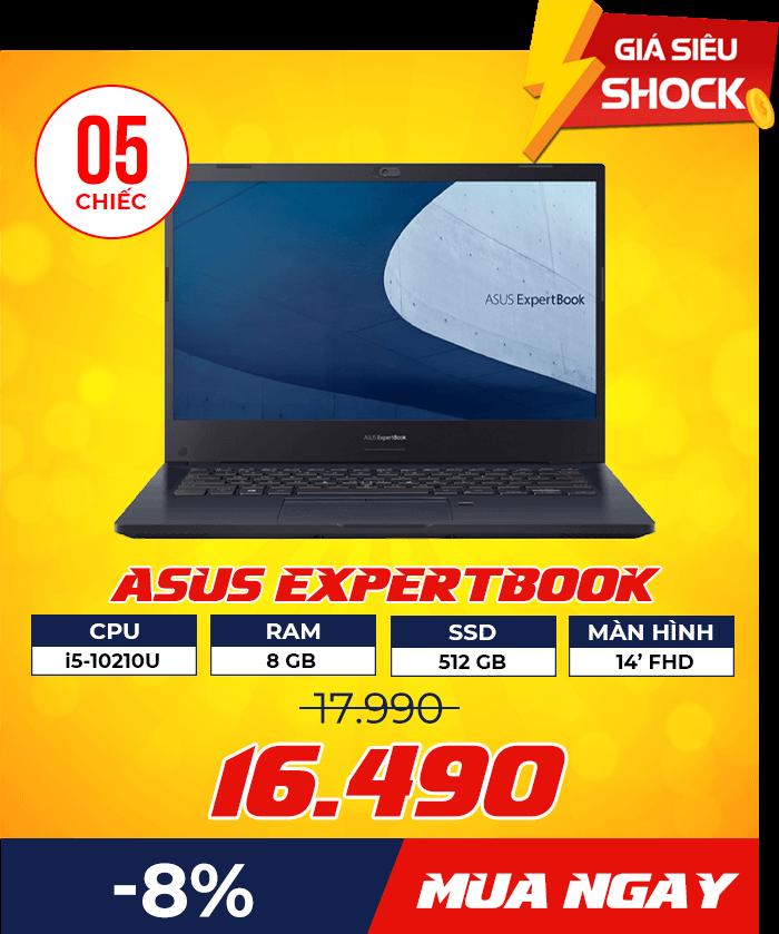 dn Asus ExpertBook P2451FA - Flash Sale mỗi ngày: Xả hàng & Giảm giá cực sốc - Ben Computer