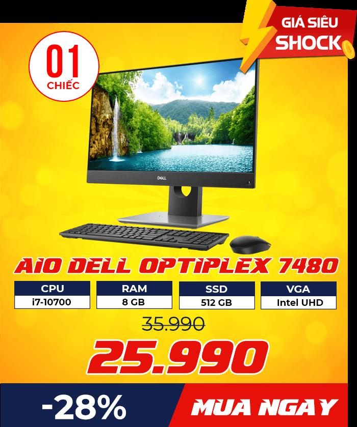 dn dell 7480 - Flash Sale mỗi ngày: Xả hàng & Giảm giá cực sốc - Ben Computer