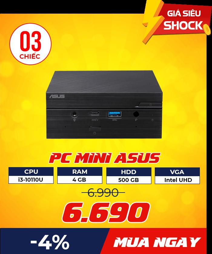 dn pc mini asus 1 - Flash Sale mỗi ngày: Xả hàng & Giảm giá cực sốc - Ben Computer