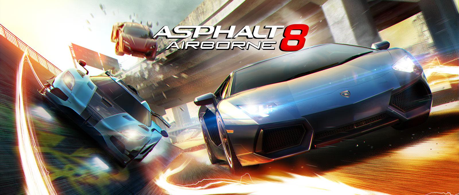 Asphalt 8 Airborne - Game đua xe tuyệt đỉnh trên Mobile