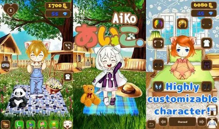 AiKo - Game chăm sóc thú cưng trên Android hay