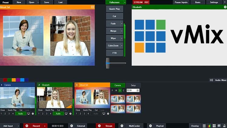 Vmix - Phần mềm Live Stream làm video chất lượng cao