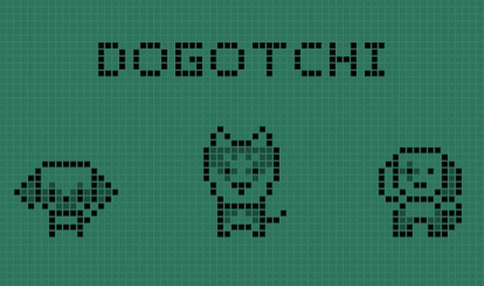 Dogotchi - Game nuôi thú cưng ảo phong cách retro