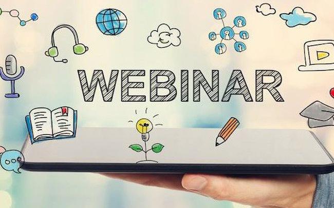 Webinar là gì? Hướng dẫn sử dụng Webinar hội thảo trực tuyến