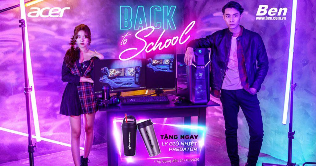 BTS MNT FA - Khuyến mãi Acer rộn ràng nhập học - Back to school 2020 - Ben Computer