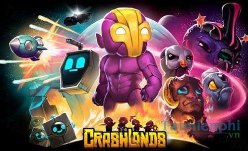 Crashlands - Game sinh tồn hay nhất năm 2020