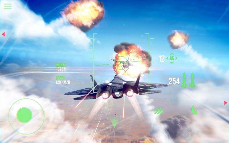 Tải game Offline hay cho Android Modern Warplanes