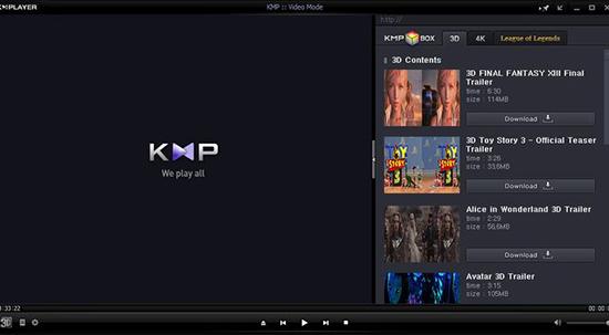 KMPlayer - Phần mềm nghe nhạc chất lượng miễn phí