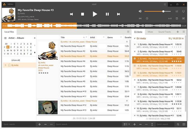 AIMP - Chương trình chơi nhạc miễn phí