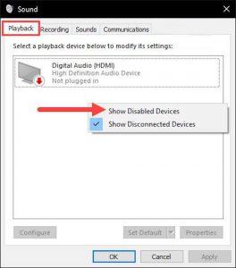 Kiểm tra Card âm thanh trên laptop - bước 2