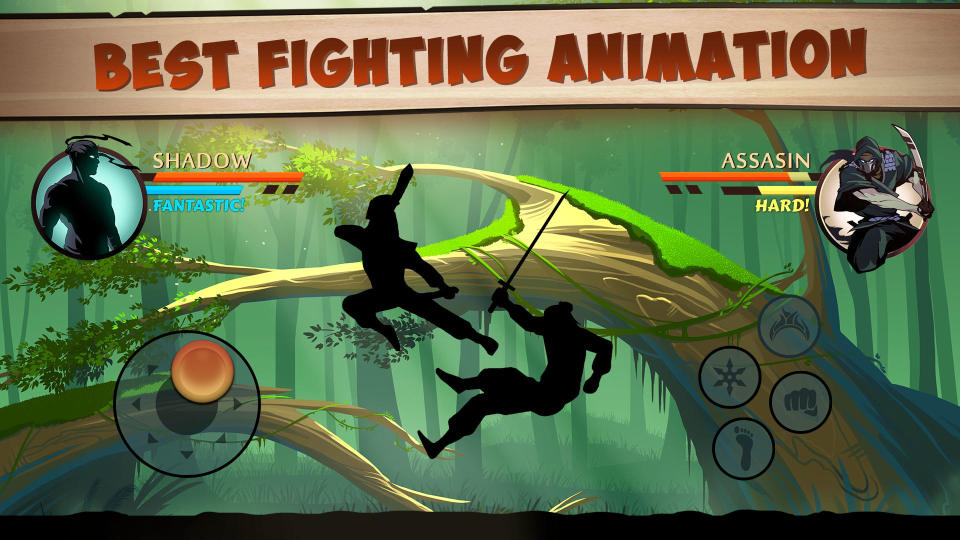 Fighting: Shadow Fight 2 - Game offline hay nhất cho điện thoại Android