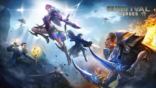 Survival Heroes - Game MOBA cho điện thoại hay nhất