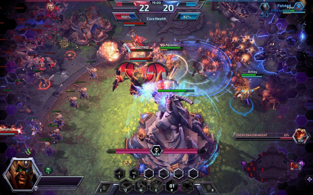 Hình ảnh đồ họa trong game Heroes of the Storm