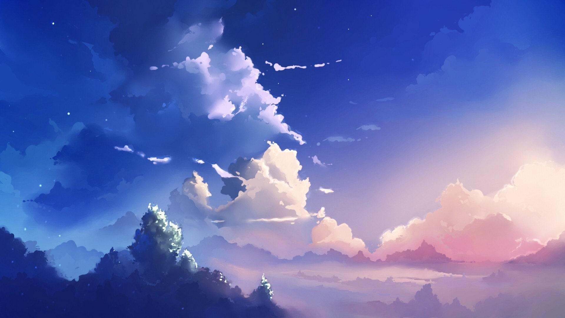 Hình nền anime đẹp cho máy tính