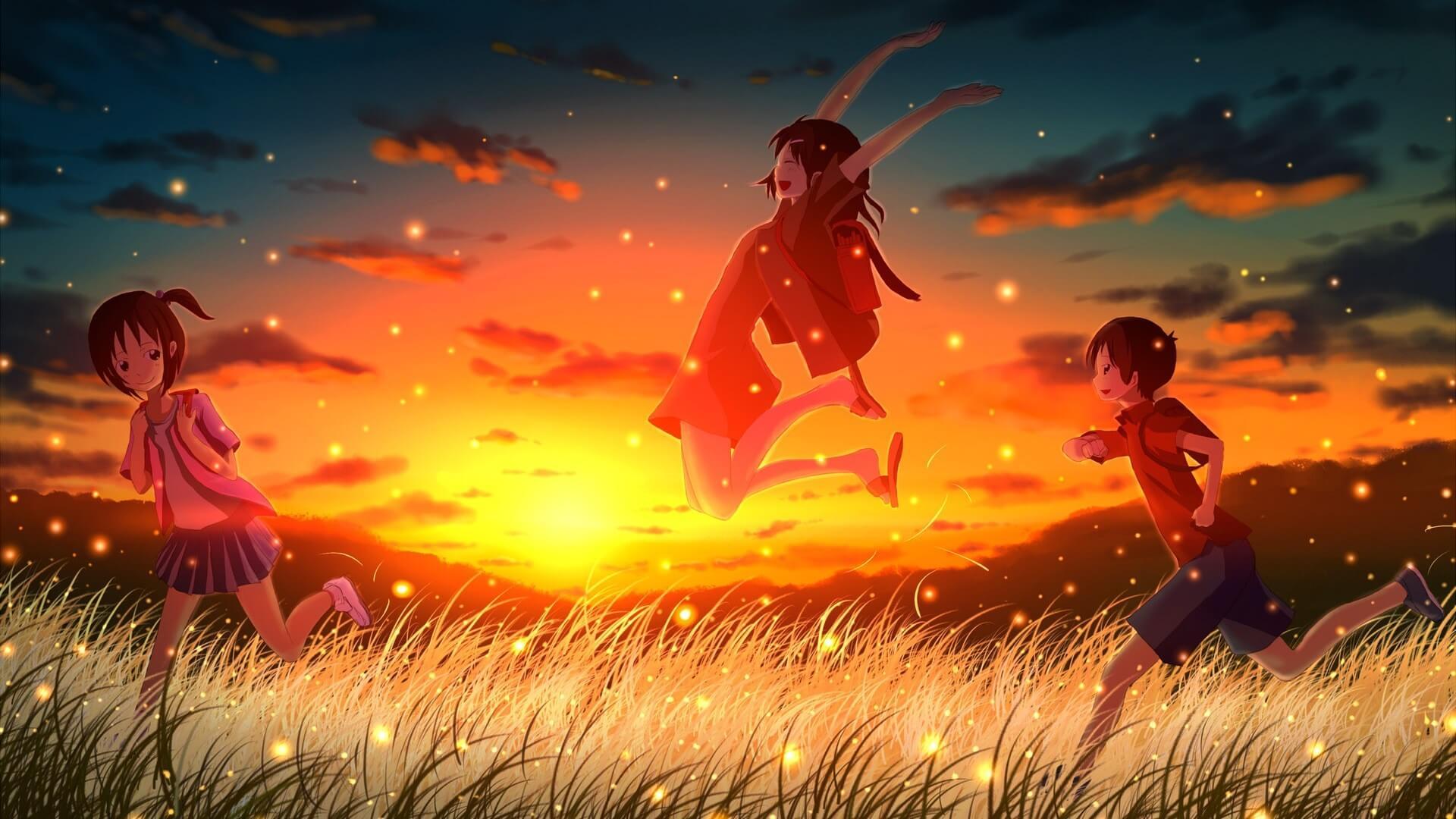 Hình nền phong cảnh anime