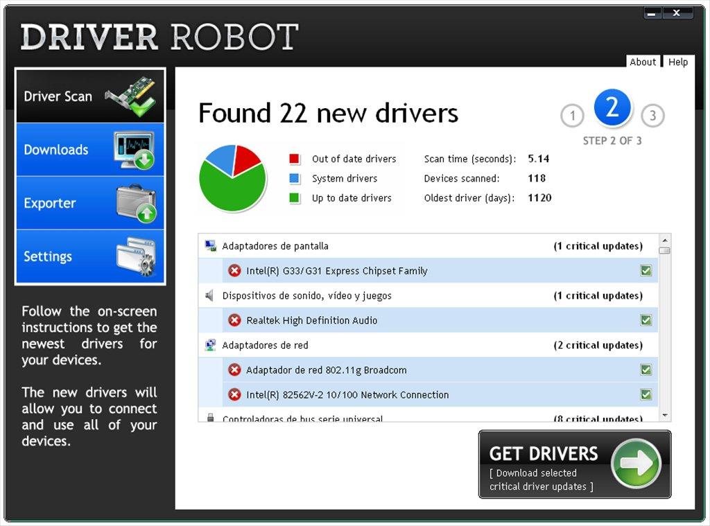 Driver Robot - Phần mềm Update Driver miễn phí, nhanh chóng