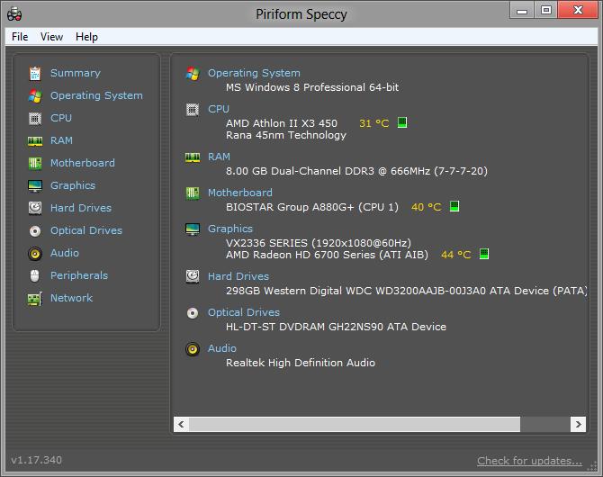 phần mềm theo dõi nhiệt độ laptop