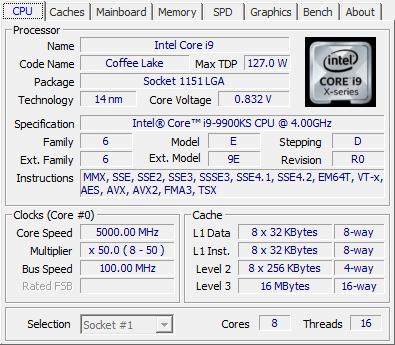 CPU-Z - Phần mềm đa năng kiểm tra cấu hình máy tính tốt nhất