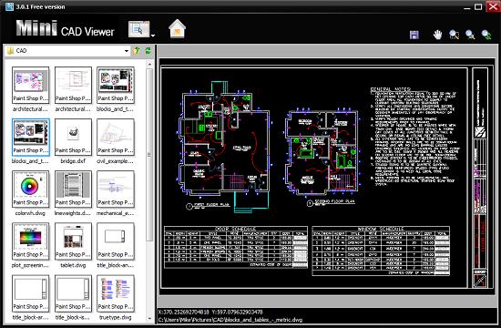 Mini CAD Viewer - Phần mềm đọc nội dung bản vẽ AutoCAD