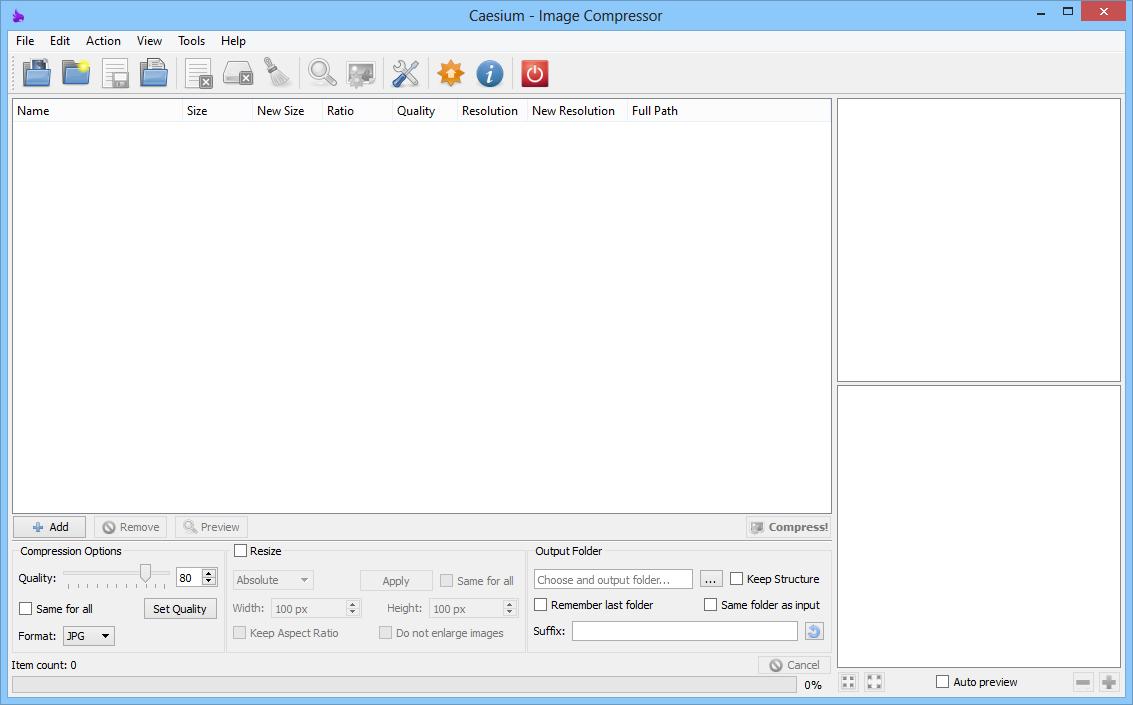 Caesium - Phần mềm nén ảnh, giảm dung lượng ảnh hàng loạt #1