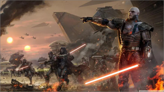 Game MMORPG PC - Star Wars Old Republic