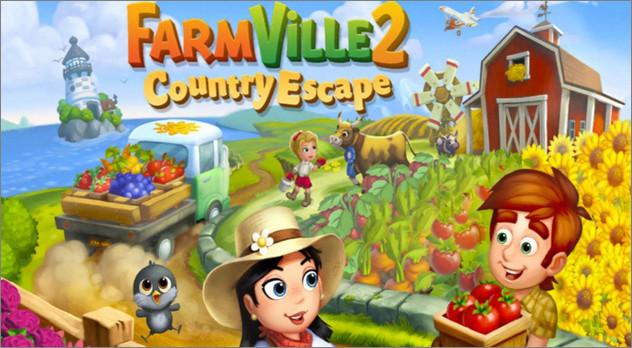 Game nông trại FarmVille 2: Country Escape
