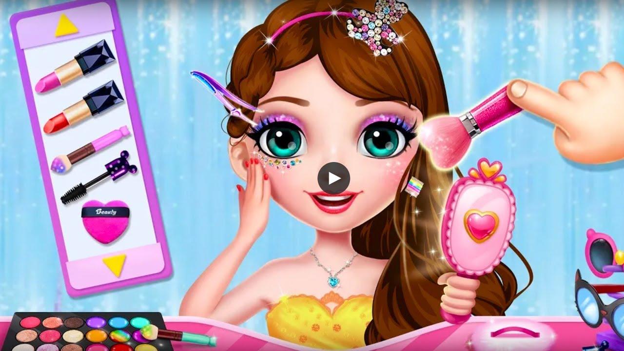 Game Hair Salon Princess Makeup