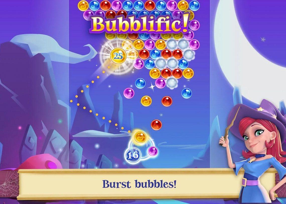 Bubble Witch Saga 2 - Game trí tuệ bắn bong bóng phiên bản 2