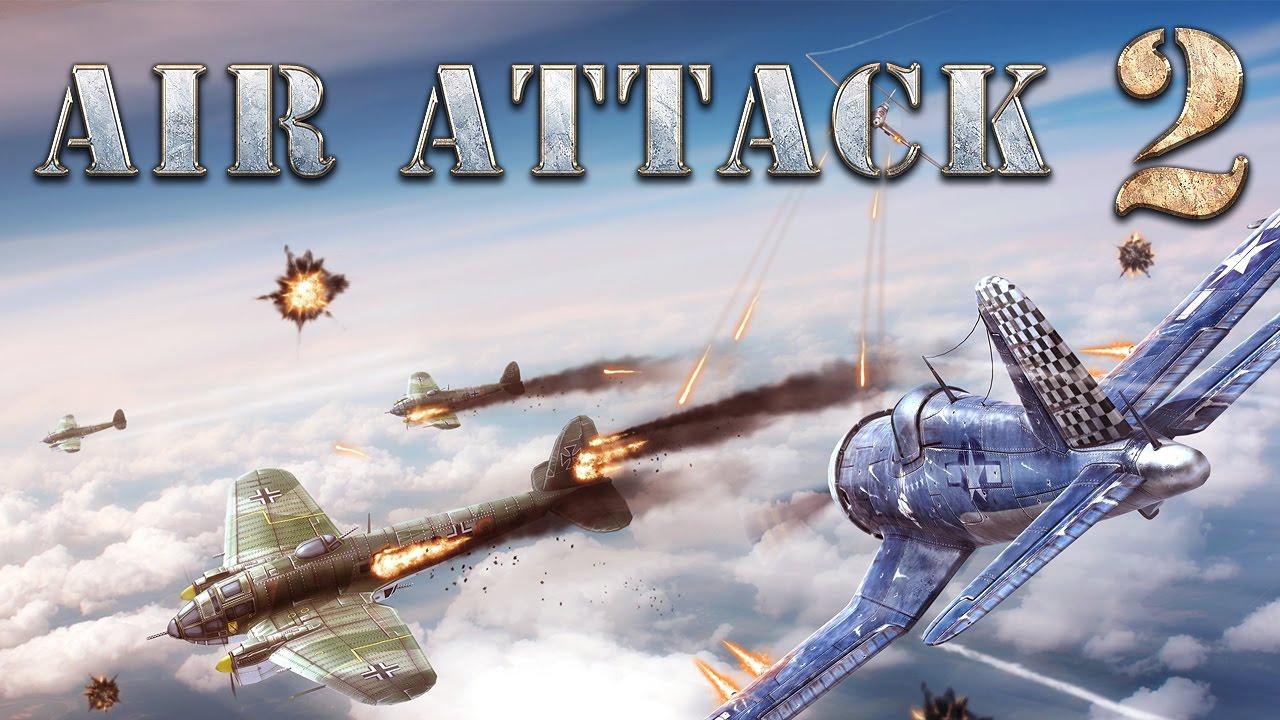 AirAttack 2 - Trò chơi bắn gà đồ họa sinh động