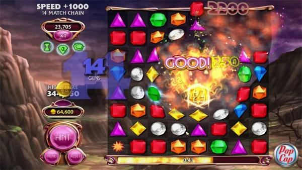 Bejeweled Blitz – game kim cương được nhiều người lựa chọn