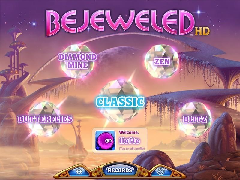 Bejeweled Classic – game kim cương có doanh thu khủng
