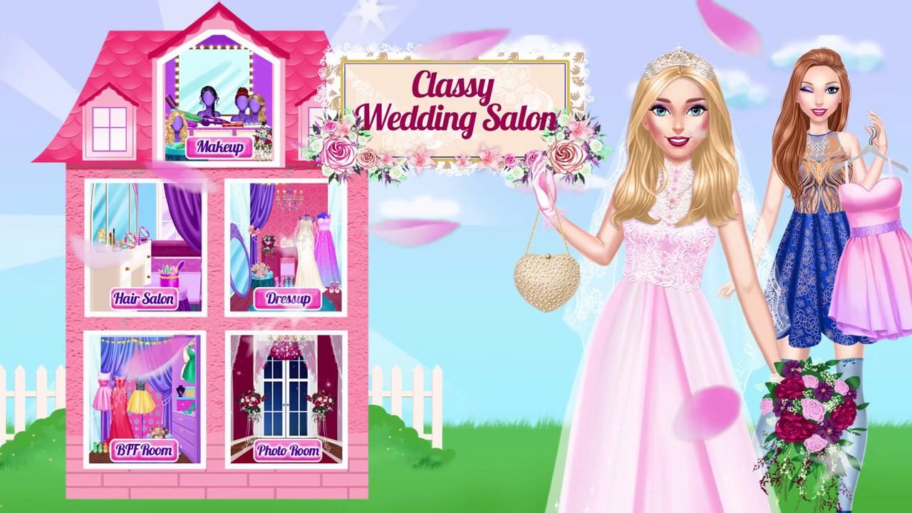 Classy wedding salon là tựa game dành cho các bạn có đam mê với ngành trang điểm cô dâu