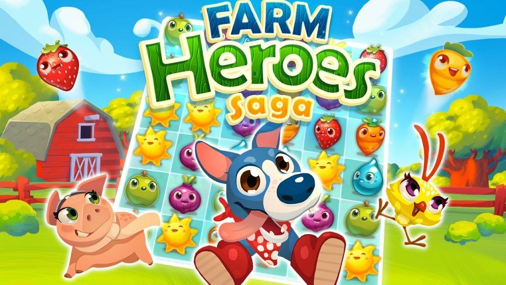 Game thu hoạch trái cây Farm Heroes Saga sẽ mang đến cho bạn những giây phút giải trí tuyệt vời