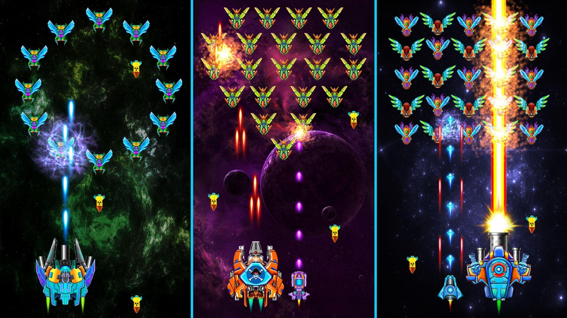 Galaxy Attack Alien Shooter - Game bắn gà hiện đại