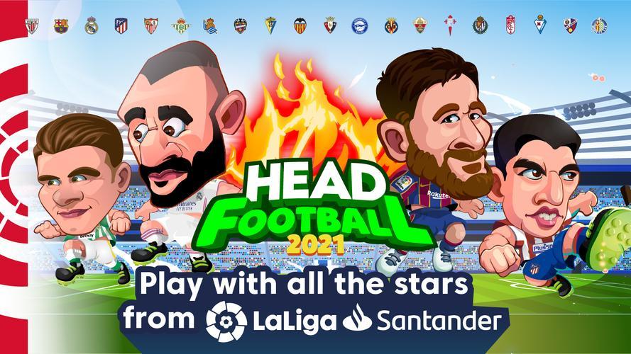 Head Soccer LaLiga là tựa game bóng đá có đồ họa vô cùng bắt mắt