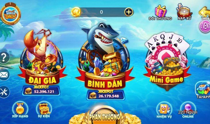 Game bắn cá đổi thẻ cào Thần Tài