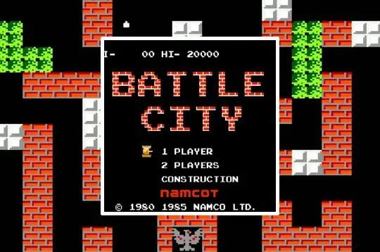 Game bắn xe tăng mang đậm phong cách cổ điển Battle City