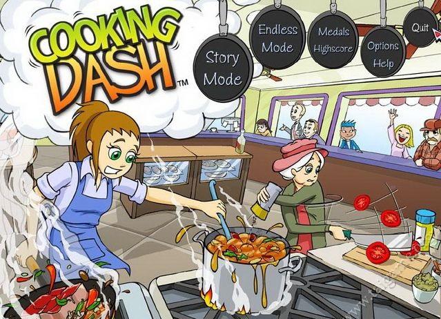 Cùng bà ngoại quản lý cửa hàng với game nấu ăn Cooking Dash