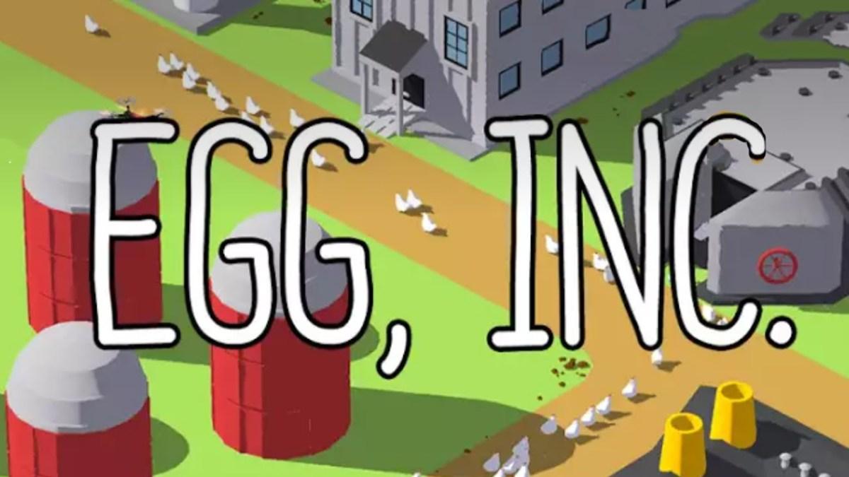 Egg, Inc cũng là loại game nông trại vui vẻ được nhiều người yêu thích