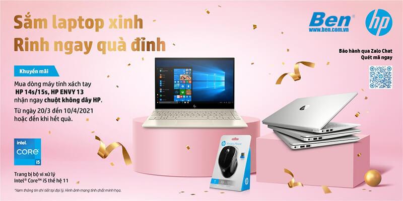 km sn hp - Mừng sinh nhật Ben Computer: Sắm laptop xinh, rinh ngay quà đỉnh - Ben Computer