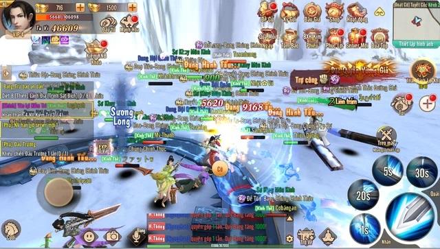 Game nhập vai kiếm hiệp miễn phí Tân Trường Sinh Quyết Mobile cực hot